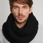 photo tricot modele tricot gratuit snood homme 8
