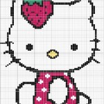 photo tricot modele tricot hello kitty imprimer 11