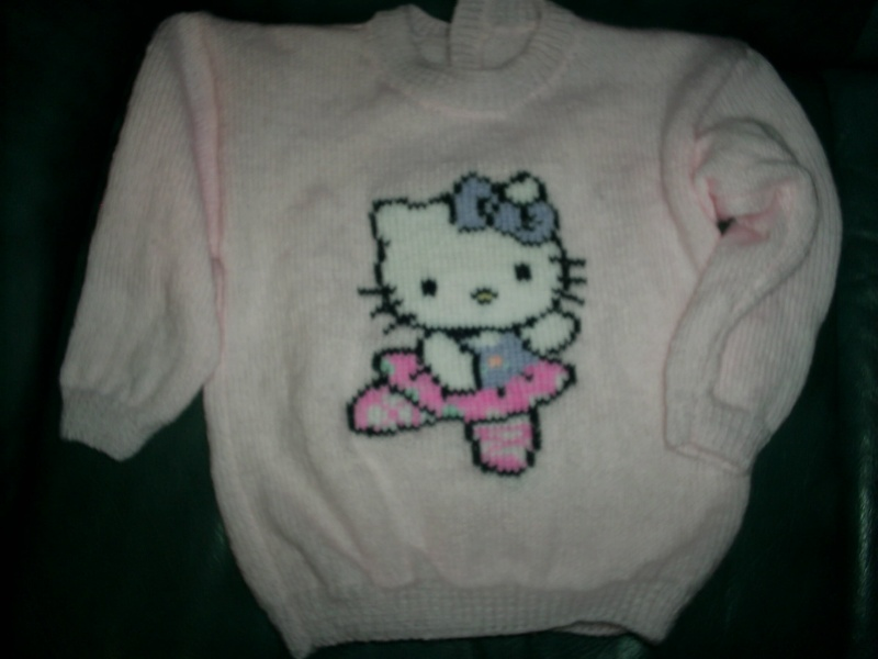 Photo tricot modele tricot hello kitty imprimer 15 - Modele hello kitty ...