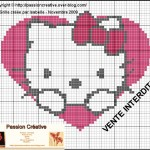 photo tricot modele tricot hello kitty imprimer 18
