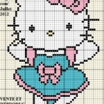 photo tricot modele tricot hello kitty imprimer 7