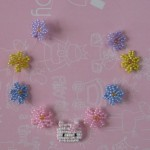 photo tricot modele tricot hello kitty rocaille 12