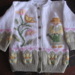 photo tricot modele tricot hello kitty rocaille 16