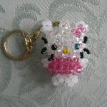 photo tricot modele tricot hello kitty rocaille 3