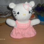 photo tricot modele tricot hello kitty rocaille 8