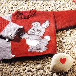 photo tricot modele tricot jacquard bebe 10