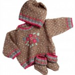 photo tricot modele tricot jacquard bebe 12