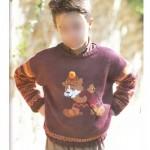 photo tricot modele tricot jacquard bebe 15