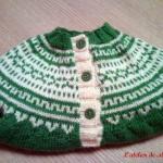 photo tricot modele tricot jacquard bebe 18