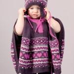 photo tricot modele tricot jacquard bebe 2
