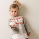 photo tricot modele tricot jacquard bebe 4