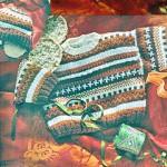 photo tricot modele tricot jacquard bebe 5