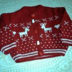 photo tricot modele tricot jacquard bebe 6