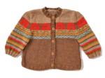 photo tricot modele tricot jacquard bebe