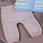 photo tricot modele tricot jersey bebe 6