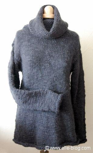 photo tricot modele tricot jersey bergere de france 5