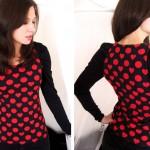 photo tricot modele tricot jersey jupe 3