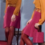photo tricot modele tricot jersey jupe 4