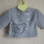 photo tricot modele tricot jersey ourson 11