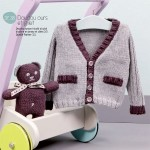 photo tricot modele tricot jersey ourson 16
