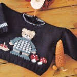 photo tricot modele tricot jersey ourson 8