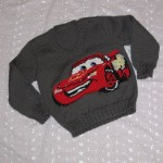 photo tricot modele tricot jersey the cars 13