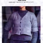 photo tricot modele tricot jersey veste 12