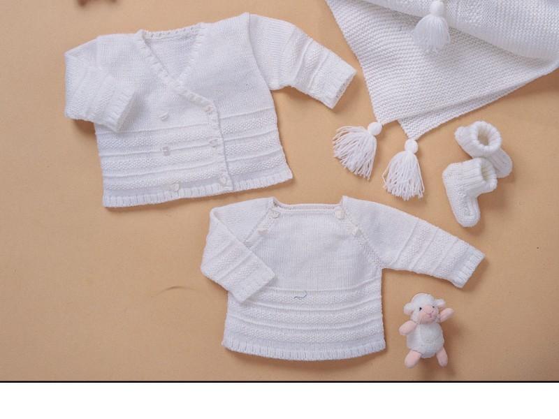 modeles de layettes a tricoter gratuit