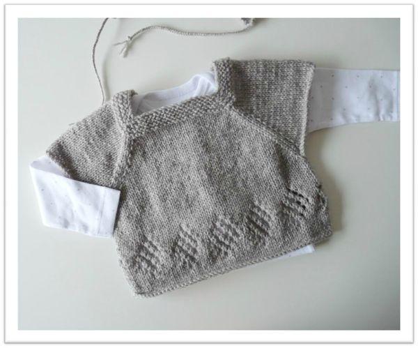 photo tricot modele tricot layette gratuit bergere de france 13