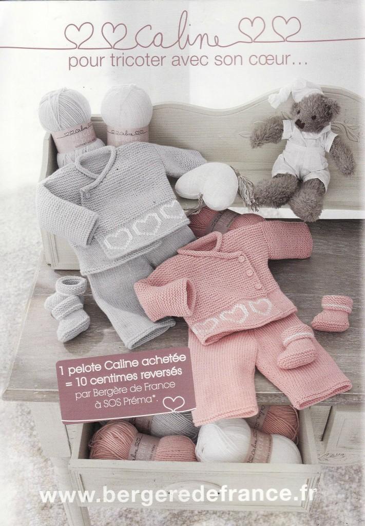 photo tricot modele tricot layette gratuit bergere de france 14
