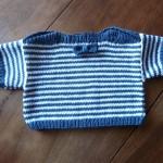 photo tricot modele tricot mariniere bebe 11