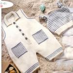 photo tricot modele tricot mariniere bebe 15