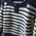 photo tricot modele tricot mariniere bebe