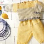 photo tricot modele tricot mariniere bebe 17