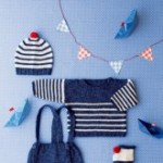 photo tricot modele tricot mariniere bebe 4