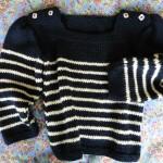 photo tricot modele tricot mariniere bebe 5