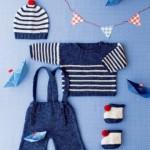 photo tricot modele tricot mariniere bebe 7