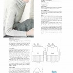 photo tricot modele tricot pull col v femme 10