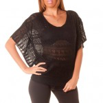 photo tricot modele tricot pull col v femme 11