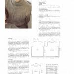 photo tricot modele tricot pull col v femme 12