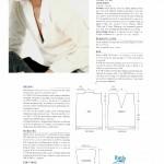 photo tricot modele tricot pull col v femme 3