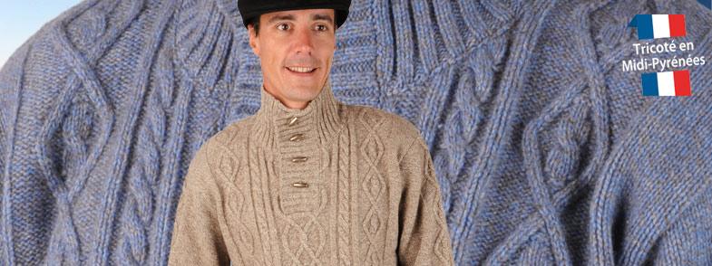 photo tricot modele tricot pull homme torsade 14. Black Bedroom Furniture Sets. Home Design Ideas