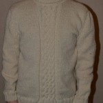 photo tricot modele tricot pull homme torsade 18