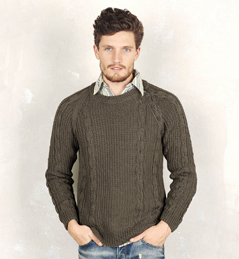 comment tricoter pull homme