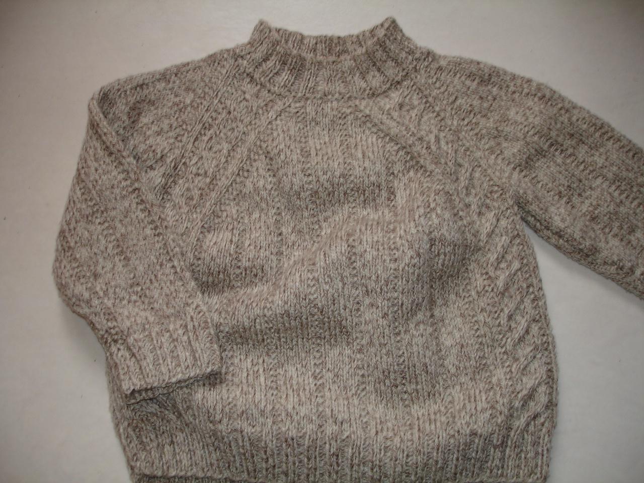 photo tricot modele tricot pull raglan femme 13