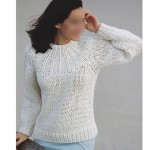 photo tricot modele tricot pull raglan femme 14
