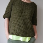 photo tricot modele tricot pull raglan femme 16