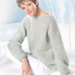 photo tricot modele tricot pull raglan femme 18