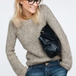 photo tricot modele tricot pull raglan femme 2