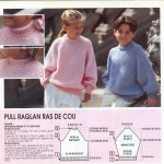 photo tricot modele tricot pull raglan femme 8